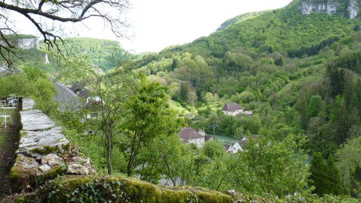 Terrasse sur la loue - Le Manoir Mouthier-Haute-Pierre