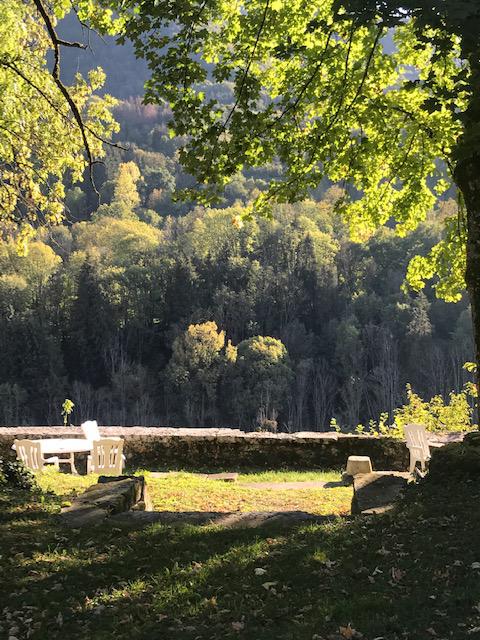 Terrasse sur la loue, Le Manoir mouthier-Haute-Pierre